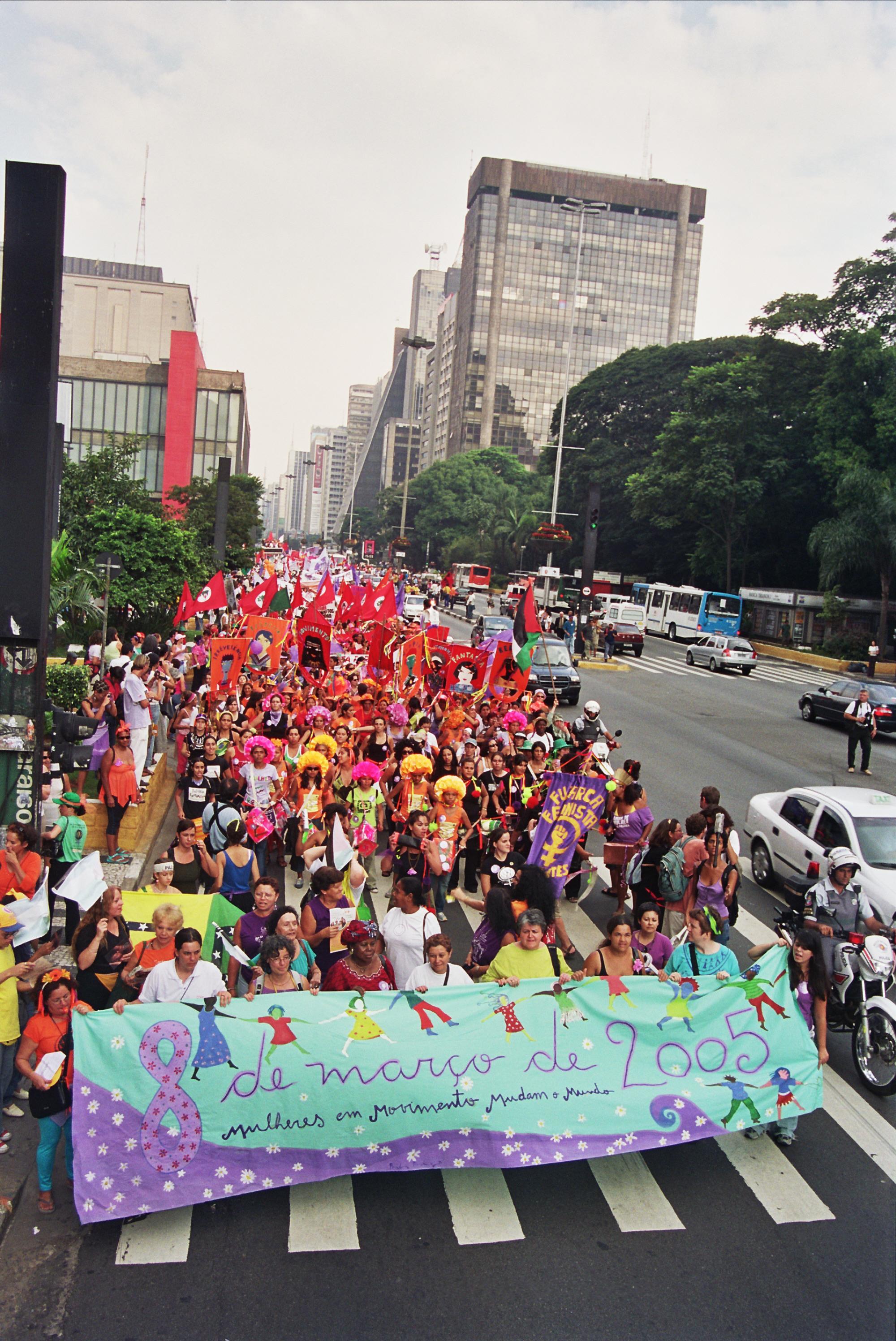 8 de março de 2005, em São Paulo.