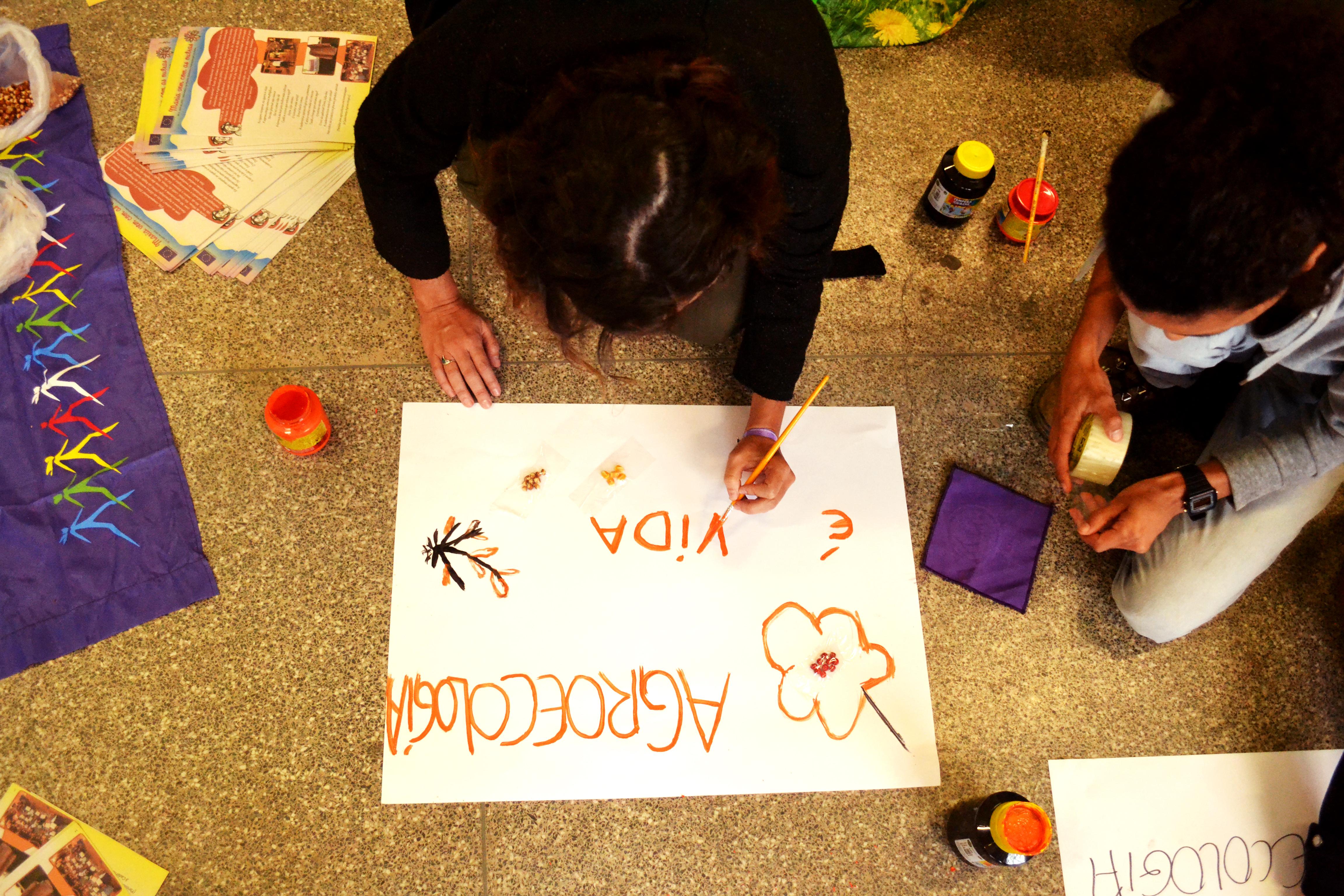 "Oficina ""Feminismo e Agroecologia"" | Foto: Helena Zelic"