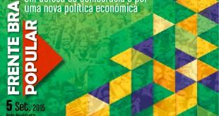 frente brasil popular cartazete