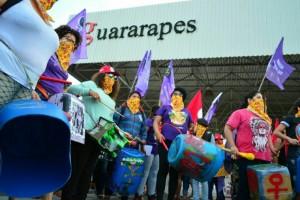 Ocupação da Empresa Guararapes, em Extremoz, Rio Grande do Norte