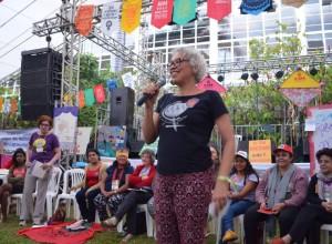 Miriam Nobre, da Marcha Mundial das Mulheres Foto: Cintia Barenho